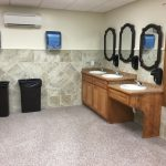 Mens & Womens restrooms